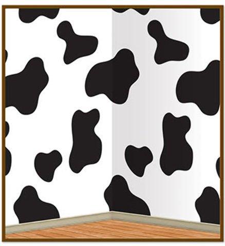 tion Zubehör Kuh Print Hintergrund Insta Thema 4'x 30' 6Stück ()