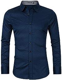 7797c9a435 Amazon.it: camicia uomo lino cotone - Camicie casual / Camicie ...