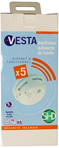shd-vesta-5-x-5-kit-de-5-detecteurs-de-fumee