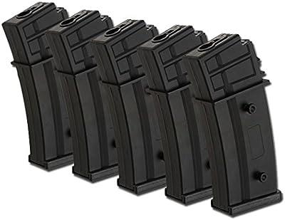 FC Juego 5cargadores 450bb para G36Airsoft
