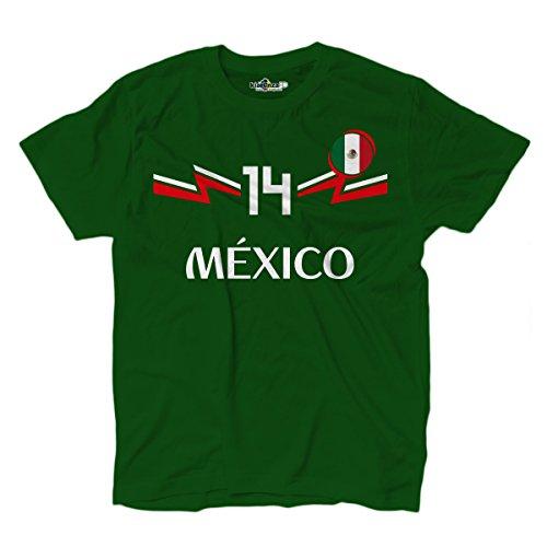 KiarenzaFD Camiseta Camiseta Fútbol Selección Chicharito