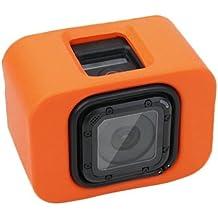Floaty funda con Backdoor para GoPro Hero4Session (Orange)