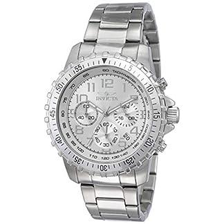 Invicta 6620 Specialty Reloj para Hombre acero inoxidable Cuarzo Esfera plata
