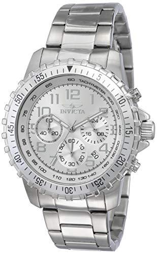 Invicta 6620 Specialty Herren Uhr Edelstahl Quarz silbernen Zifferblat (Für Invicta Uhren Ihr)