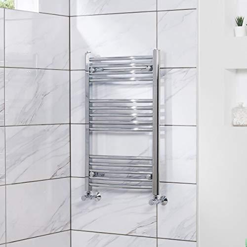 Handtuchheizkörper Badheizkörper Handtuchwärmer 800x500mm Chrom
