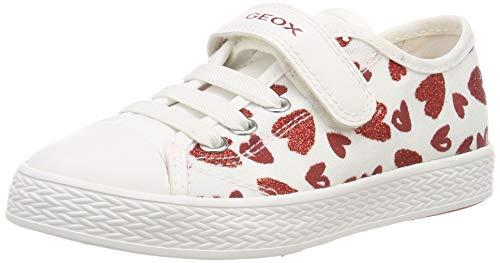 K Girl J Sneaker, Weiß (White/Red C0050), 36 EU ()