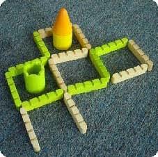 Bamboo Collection - Janod - Jeux de société de stratégie - Jeu de société Castella