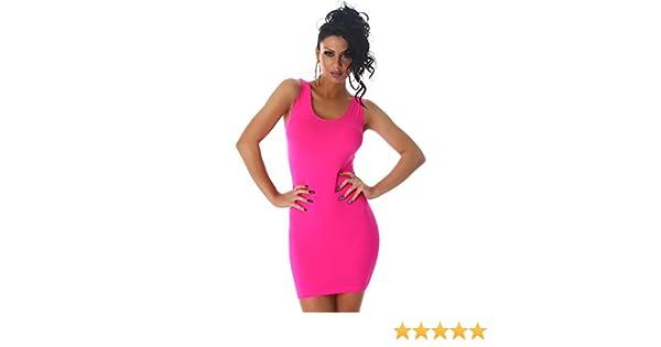 7a85884ef0f1c Damen Minikleid Kleid Shirt Longtop Longshirt Spitze Transparent Träger  Rundhals Top Mini Cocktailkleid Partykleid