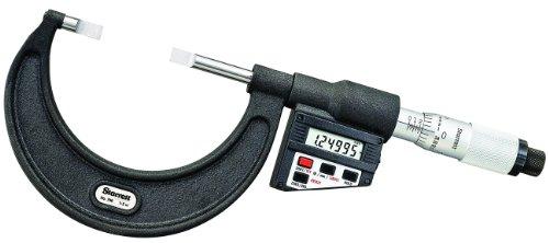 Starrett 786p-2LCD Blade-type Micromètre, absence Spindle, UNI Dé à Coudre, 1–5,1cm Range, 0cm Graduation