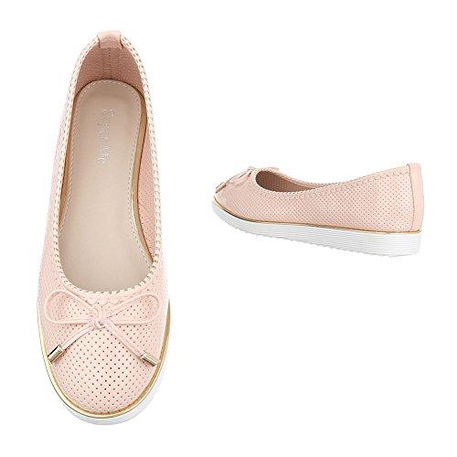 Pour Femme Rosa Ballerines Ital Xt505g7qw G05 Design Hxqw1A