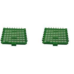 Green Label Lot de 2 Filtres HEPA H13 pour les Aspirateurs Rowenta Silence Force et X-Trem Power (Alternative à ZR002901)