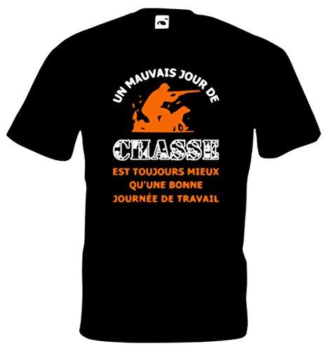 Steefshirts Herren T-Shirt schwarz schwarz Small Small,Noir