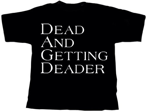 Coroner Mental Vortex T-Shirt Schwarz