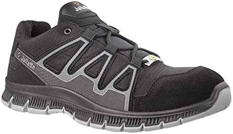 jalatte jnu26 – 46 j-nude/jalcatch – Zapatos de seguridad SAS ESD S1P SRC talla 46 NEGRO/GRIS
