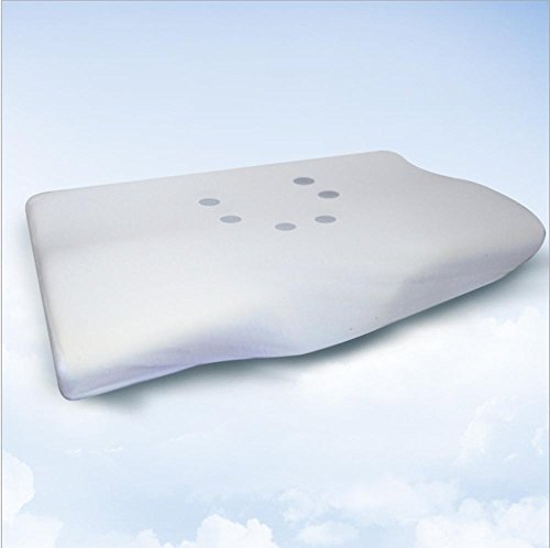 Zervikale Kontur Kissen - höchste Qualität-Memory-Schaum, Nacken Komfort mit verstellbaren Pad , white