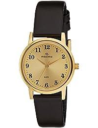 Maxima Analog Gold Dial Men's Watch - 26774LMGY