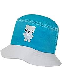 EveryHead Chapeau De Pêche La Fille Pêcheur Casquette Capeline Loisirs Été  Bicolore Broderie Pour Enfants ( 1d24f60b2dd