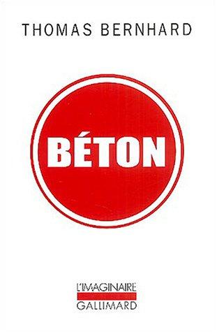Béton par Thomas Bernhard