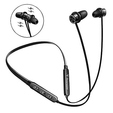 Ecouteur Bluetooth Sans Fil, SEGURO Bluetooth 4.1 Casque de Sport