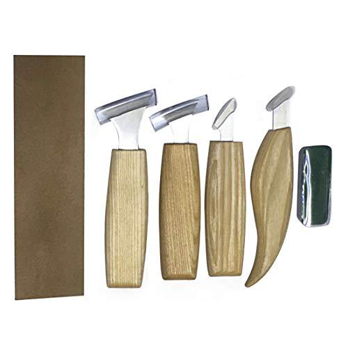 DYALYD - Juego 7 cuchillos cinceles tallar madera