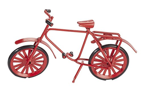 Miniatur-Fahrrad, ca. 9,5 cm x 6 cm - Geburtstag Buchen Meinen