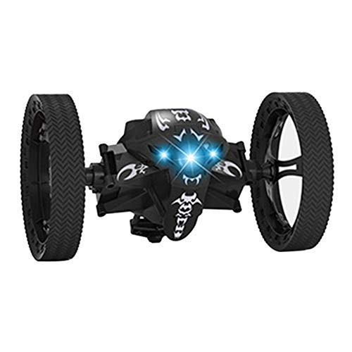 ZREAL Leaping Dragon 2.4G RC Bounce Car with LED Night Lights Kids Toys Birthday Christmas Gifts (Hotwheel Rc-car)