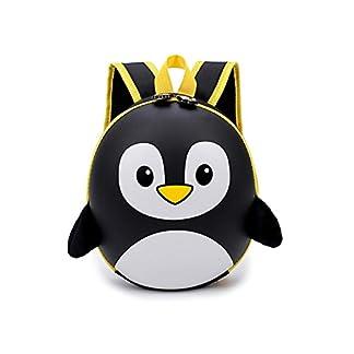 JYCRA Mochilas preescolares para Niños, Super Lindas 3D Cartoon Penguin Mochila de la Escuela de Jardín de Infancia – el Mejor Regalo para Niños DE 3 – 6 Años de Edad