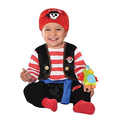 FBA Christys Dress Up Baby Buccaneer Childs Fancy Dress Costume - Baby Buccaneer -Infant -12-24 Months