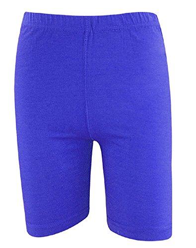 The Home of Fashion - Short de sport - Femme Multicolore Bigarré Bleu Marine