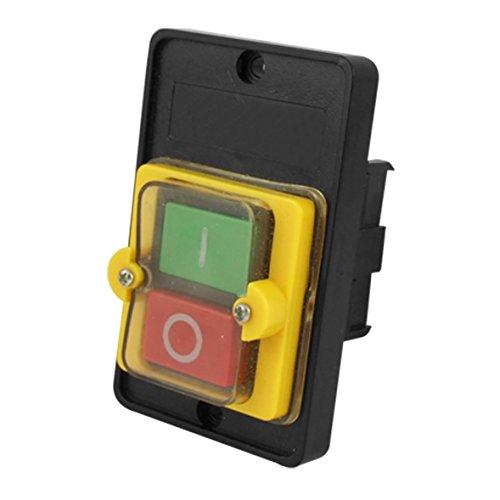 """AC 220 / 380V EN Resistente al agua Interruptor de Boton KAO-5Por favor, preste atencion a la tension para asegurarse de que puede ser un trabajo con exito en su lugar; """"O"""" pulsador es autoblocante, """"I"""" pulsador estan rearme automatico; Disenado con ..."""