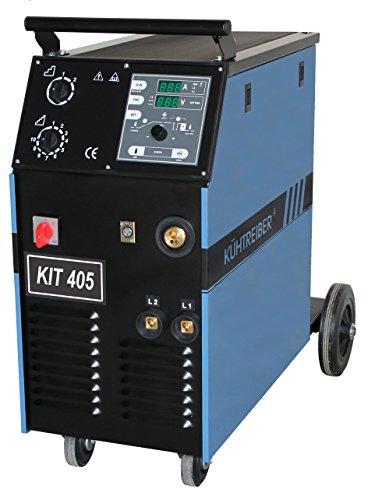 KIT 405 Kühtreiber Synergic MIG/ MAG -Schutzgas-Schweißgerät 350A komplettes Set