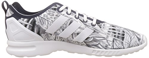 adidas Zx Flux Smooth, Baskets femme Blanc - Weiß - Weiß