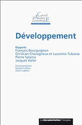 Rapport du CAE, numéro 25 : Développement
