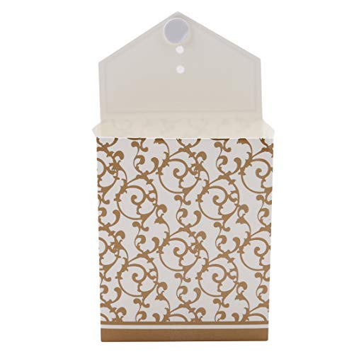 eit Süßigkeitstasche Kreative Treat Tasche Geschenk Taschen Schmuck Beutel Candy Verpackung Taschen mit Bändern Hochzeit Urlaub Weihnachten Gefälligkeiten ()