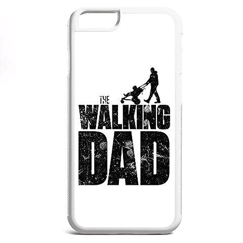 Smartcover Case The Walking dad z.B. für Iphone 5 / 5S, Iphone 6 / 6S, Samsung S6 und S6 EDGE mit griffigem Gummirand und coolem Print, Smartphone Hülle:Iphone 6 / 6S (Staffel 4 Walking Dead)