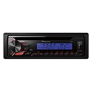 Pioneer DEH-1900UBB Einstiegs CD-Tuner mit USB und Front AUX-In schwarz