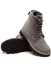 Amazon.es: Piel - Botas / Zapatos para mujer: Zapatos y ...