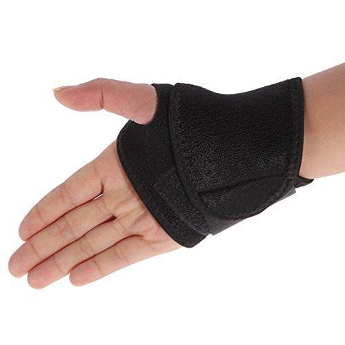 Stoga Kpot002 traspirante atletica dell'involucro del polso cinghie Bands con il pollice Loop per sollevamento di peso Crossfit allenamenti Sport One Size per uomini e donne
