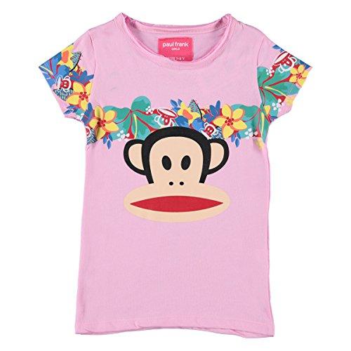 Paul Frank Mädchen T-Shirts-kurzärmlig - 140 (Frank Paul Kinder T-shirt)