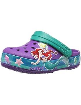 Crocs Crocband Princess Ariel Clog Kids, Zuecos para Niñas