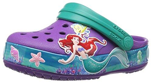 ess Ariel Clog Kids, Mädchen Clogs, Violett (Amethyst), 28/29 EU (Prinzessin Ariel Schuhe)