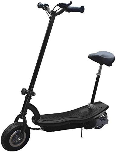 elrofu E-Scooter EB-1, 250 Watt 24V / 9 AH Elektroroller Elektro Roller E-Roller E Tretroller Scooter Cityroller Klapproller Kickroller inklusive Sitz