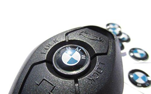 2-nuevo-bmw-11-mm-aluminio-llavero-insignias-emblema-adhesivo-logotipo-de-bmw