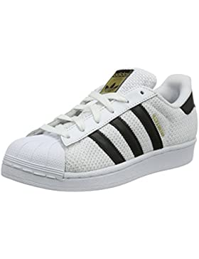 adidas Unisex-Kinder Superstar J Low-Top