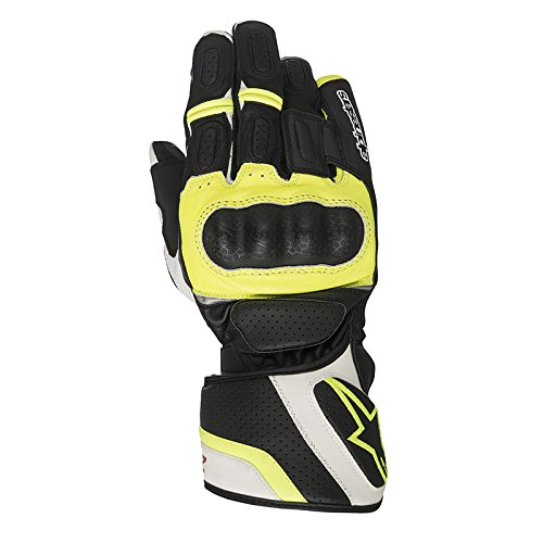 Alpinestars Handschuhe SP Z Drystar Gloves, Black White Yellow Fluo, M