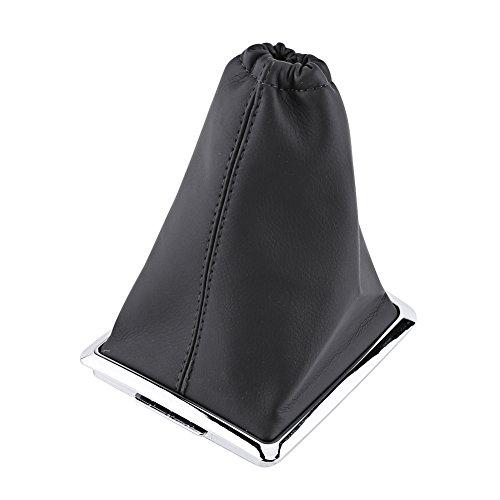 Qiilu Gear Shift Stick Gaiter Stiefel PU Leder Staub Abdeckung Ersatz