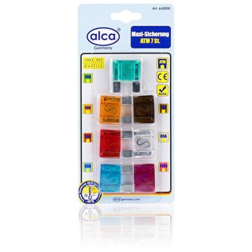Preisvergleich Produktbild alca® 660000 Maxi Sicherung 100A 7 Stück Blister