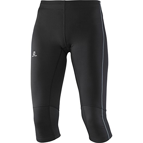 Salomon 3/4 Agile Pantaloni, Donna, Nero (Black), M