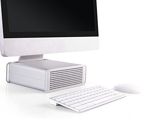 iMac Stand MTS-03 AiO Aufsatz Erhöhung Ergonomisch Kühlung Höhenverstellbar / 21