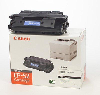 HP LaserJet 4000 SE - Original Canon 3839A003 / EP-52 Black Toner...